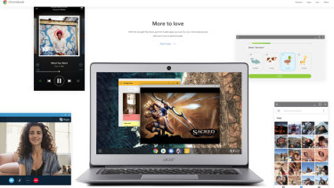 Google has launched a new Australian-specific consumer Chromebook website.