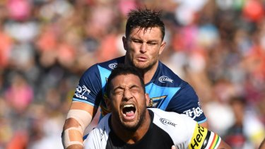 Viliame Kikau ... The Panthers backrower is the man the Sharks need to stop in Thursday night football.
