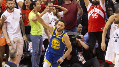 Champagne on ice: Warriors hang on to force game six in NBA Finals