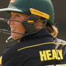 Alyssa Healy was dismissed cheaply again, but Australia got the win.