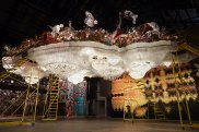 Nick Cave and his exhibition Until at Carriageworks.