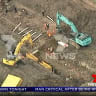 Father-of-two dies after trench collapses on site