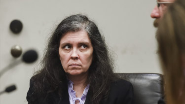 Louise Turpin appears in Riverside County Superior Court in August.