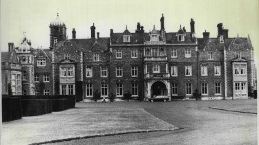 The Queen's Sandringham residence, pictured in 1976.