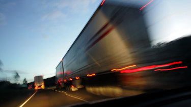 Truck drivers delivering freight will be exempt from self-isolation.