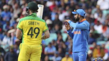 Enough: Virat Kohli implored the Indian fans to lay off Steve Smith.