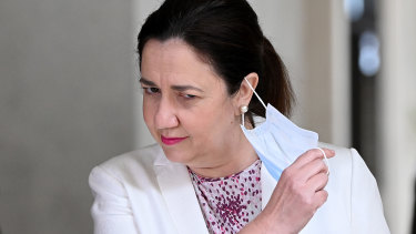 Premier Annastacia Palaszczuk said her state would accelerate its vaccination program as soon as there was a greater guarantee of supply.