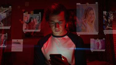 Skyler Gisondo as Ben in Netflix's The Social Dilemma.