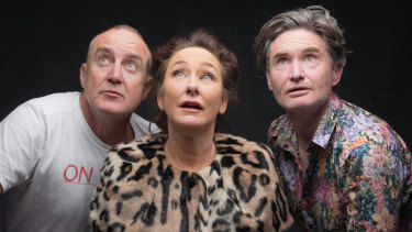 Jimeoin, Fiona O'Loughlin and Dave Hughes understand the importance of new material.