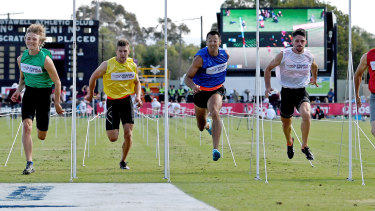 The Stawell Gift has been abandoned due to the coronavirus pandemic.