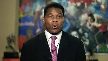 Former NFL player Herschel Walker.
