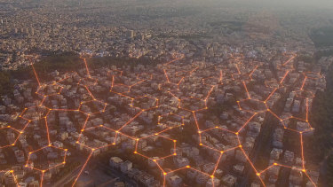 2040 speaks of not so much going off-grid, but creating new kinds of grids.