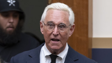 Roger Stone, a confidant of President Donald Trump.