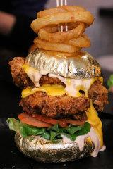 Phat Stacks sold burgers with a 24 carat gold bun.