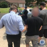 NSW Police arrested four men in the drug bust.