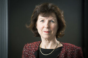 Professor Susan Michie from the Scientific Advisory Group for Emergencies which advises the British government on coronavirus.