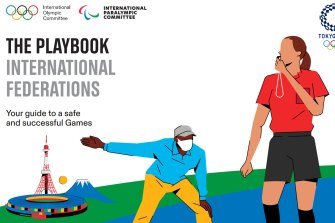 """Tokyo organisers and the International Olympic Committee (IOC) have released the first guidelines for the Games in a COVID """"playbook""""."""