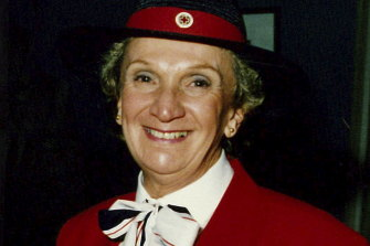 Australian Yvonne Kennedy, who died on September 11, 2001.