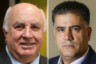 Georges River councillorsVince Badalati and Con Hindi say there is a vendetta against them.
