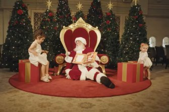 QVB's 2020 Santa experience is on NSW Health's latest list of COVID-19 affected locations.