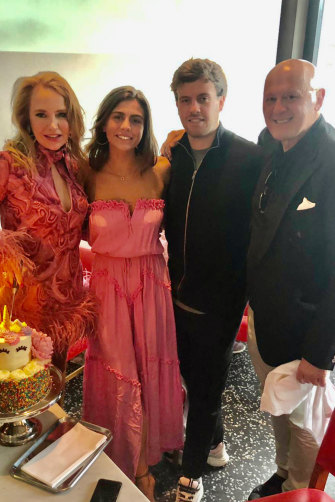 """Lynn Burmeister with hotelier husband Fabrizio Ippoliti and their daughter, Tatiana, and son, Fab jnr. Her dedication to her job """"hasn't been easy"""", Ippoliti says. """"It's been hard on all of us."""""""