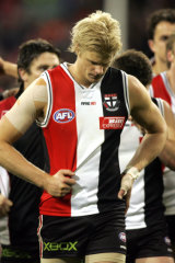 Nick Riewoldt in younger days.