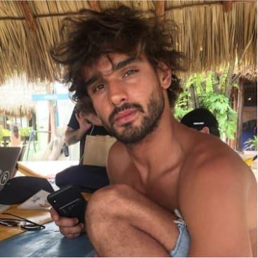 Brazilian model Marlon Teixeira.