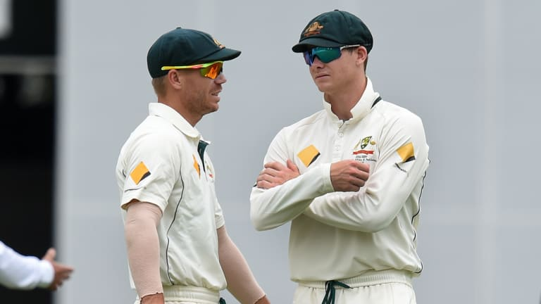Steve Smith and David Warner are serving 12-month bans from Australian cricket.