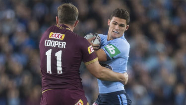 Strength to strength: NSW halfback Nathan Cleary will only get better, according to Panthers great Greg Alexander.