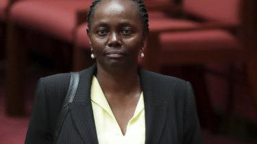 Lucy Gichuhi now says she wasn't bullied during the leadership spill.