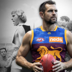 Luke Hodge: shades of Alexander the Great and Hawke.