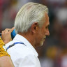 Bert Van Marwijk rues Socceroos lack of goalscorer and poor luck