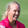 The cricket queen and the teen: Perry mentors Sixers youngster