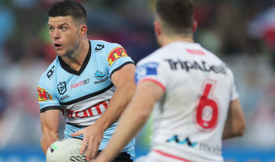 'Mass confusion': Griffin bemoans high-tackle edict as Sharks win golden-point thriller
