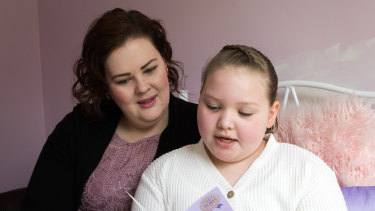 Kate Blundy, who has autism was expelled from her private school when she was in year 2. Her parents, mother Hannah are taking the case to court, saying the school didn't do enough to meet her needs related to her disability, now 8 years old she attends another school. 21st June 2020.