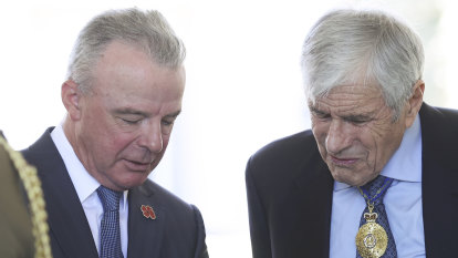 'I'm happy to go on': Brendan Nelson waxes lyrical about SAS soldier