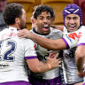 NRL 2020 as it happened: Storm rout heaps more pressure on Broncos, Seibold
