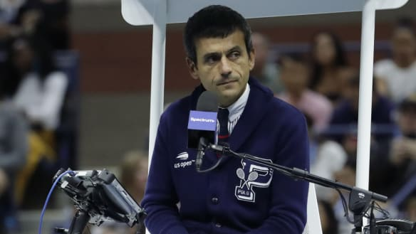 'Firm but fair' US Open umpire Carlos Ramos is known for his rigidity