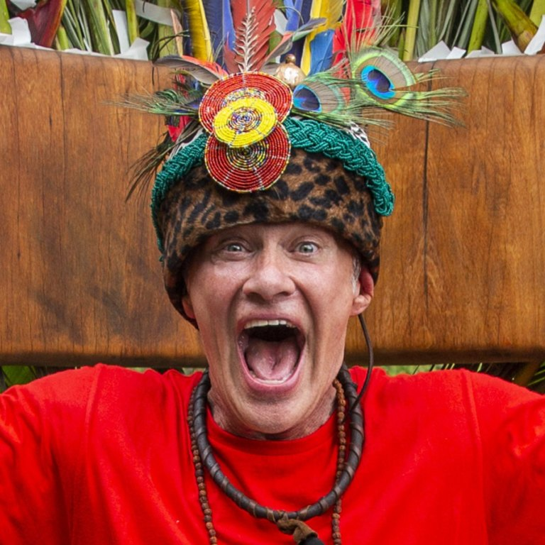 King of the Jungle Richard Reid begged to be cast