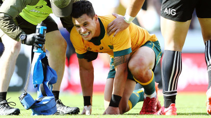 To'omua set to be sidelined for rest of Wallabies season