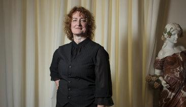 Australian writer-director Jennifer Kent at the Venice International Film Festival on Thursday.