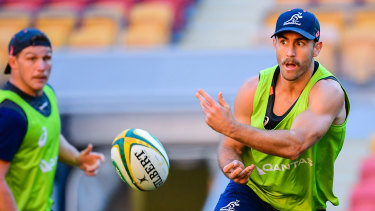 Nic White is back in the Wallabies fold after missing out on selection for the last World Cup.