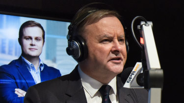 Opposition leader Anthony Albanese speaks on Perth radio 6PR.