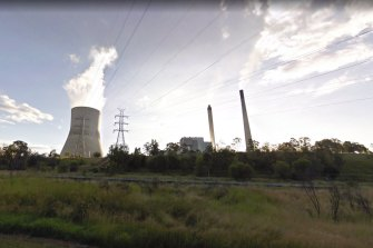 The power station at Callide, in central Queensland.