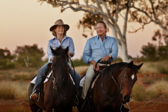Nicola and Andrew Forrest.