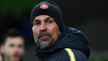 Bringing in quality: The Wanderers' new German coach Markus Babbel.