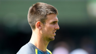 It's been a tough week for Mitch Marsh.