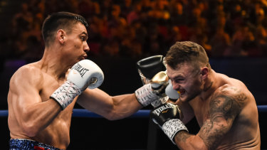 Tim Tszyu is seeking big fights after defeating Dwight Ritchie.