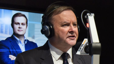 Opposition leader Anthony Albanese speaks on Perth radio 6PR.