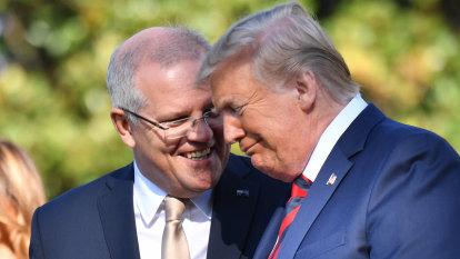 Despite pledges of eternal mateship, US and Australia not on song on China